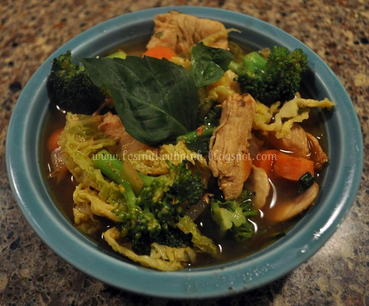 Losin' it with PINK: Thai Chicken Soup
