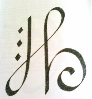 "Zibu Symbol for ""Faith"" | Tattoos | Pinterest | Initials ..."
