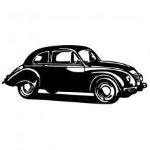 Old timer car pattern.  Free Craftsman space (.dwg, .eps, .svg)
