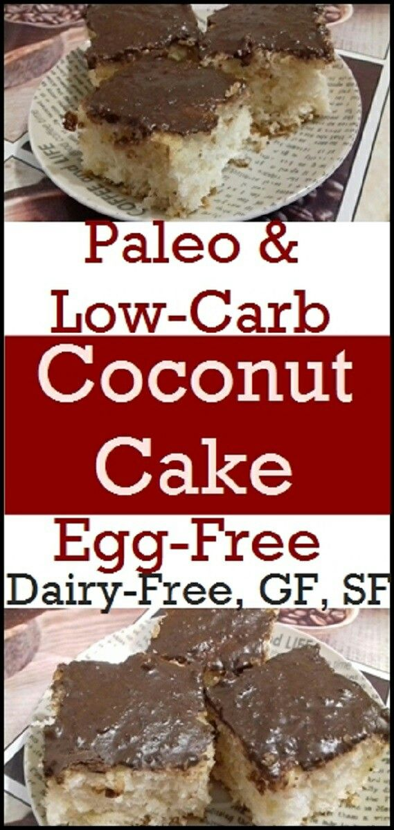 Low-carb and Gluten-Free Coconut Cake