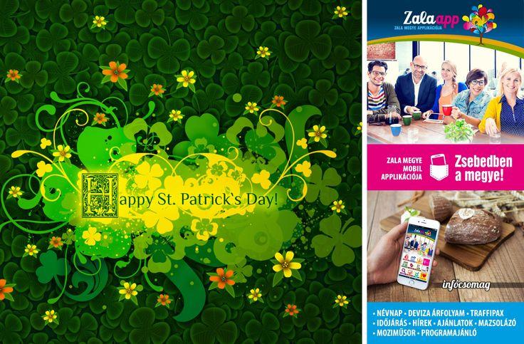 Szent Patrik napja van, Írország védőszentjének ünnepe! Zsebedben az infócsomag! - (03. 17.) - Zala app, Zala megye ingyenes mobil applikációja!