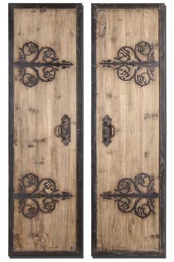 Wood Panel Wall Art 37 best doors - diy wall art images on pinterest | doors, old