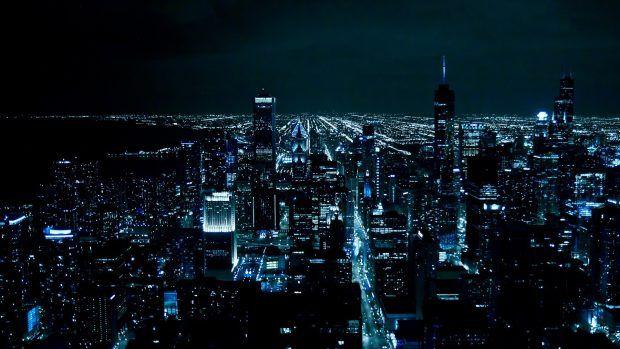 Hd Wallpaper 1920x1080 Pixelstalk Net In 2020 City Lights Wallpaper City Wallpaper Chicago Wallpaper