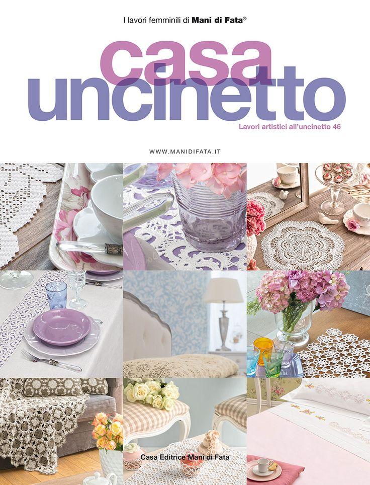 Casa uncinetto lavori artistici all 39 uncinetto 46 rivista for Lavori all uncinetto per altari