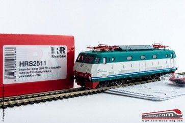 RIVAROSSI HRS2511 - H0 1:87 - Locomotiva elettrica E 444R 005 XMPR nuovo logo e prese frontali