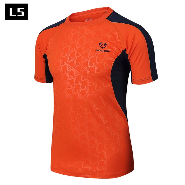 LINGSAI 2017 fashion t shirt men summer new style men's t-shirts quick dry fit fitness Men's mma Clothing Short sleeve Camisetas