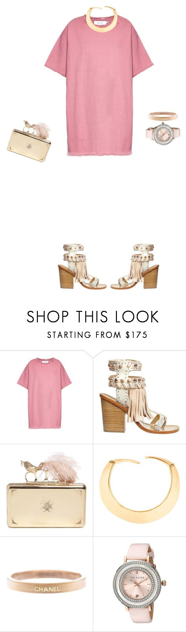 """""""Spring is coming"""" by theclothesmind on Polyvore featuring Marques'Almeida, Ivy Kirzhner, Alexander McQueen, Givenchy, Chanel and Ted Baker"""