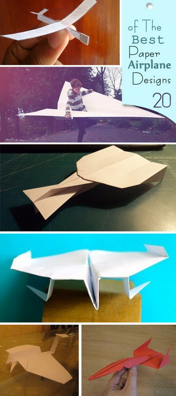 Best Paper Airplane Designs!