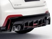 Honda Civic Type R Rear Diffuser Decoration - Rally Red 2015 - 08F24-TV8-600