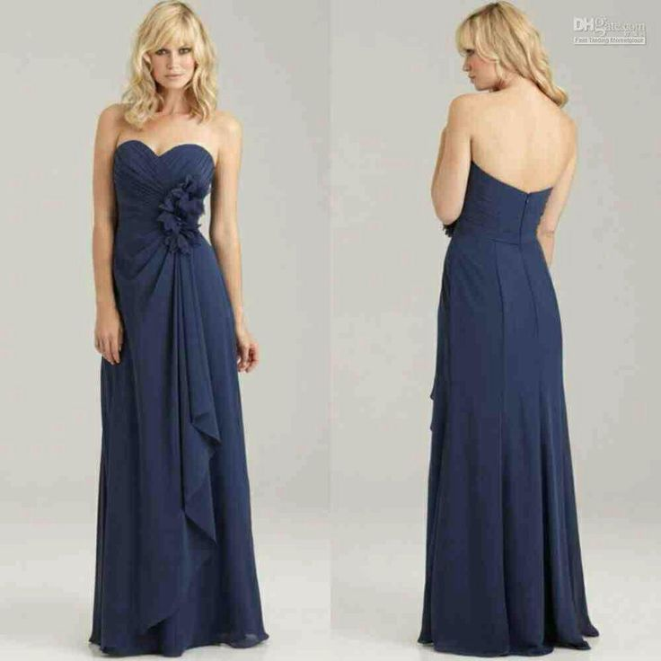 45 best Bridesmaid Dresses images on Pinterest | Navy blue ...