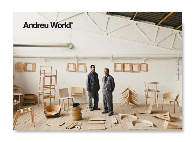 Andreu World promotional card / Milano Fair 2014