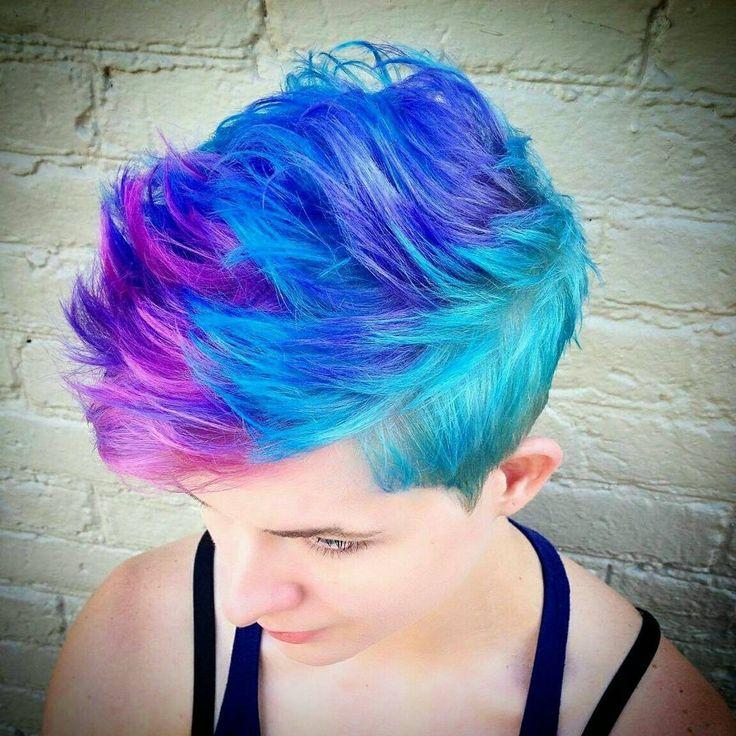 265 best Short Hair Vivid Color images on Pinterest ...