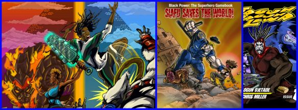 Video Games on Paper? Black Heroes and Sheroes in Gamebooks!