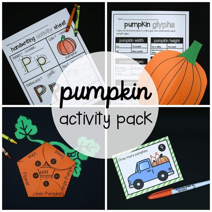 the bumpy little pumpkin writing activities