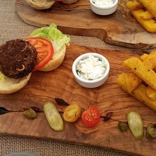 Grub Kitchen's Gourmet Bug Burgers