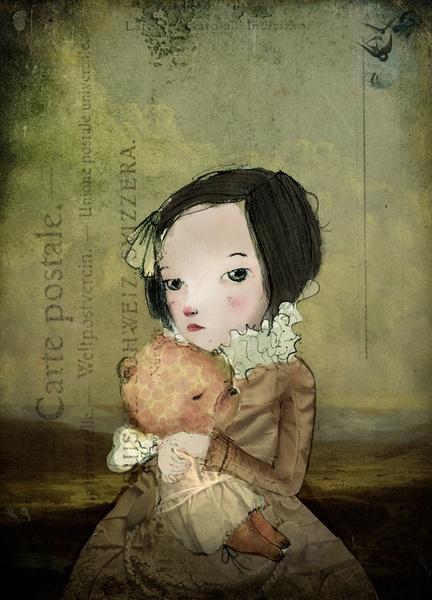 Beautiful illustration by Paola Zakimi