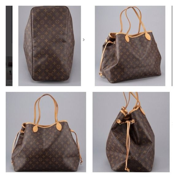 "Louis Vuitton Neverfull GM Monogram XL Tote PayPal Designer: Louis Vuitton  Style: Tote Bag, Shoulder Bag, Everyday Bag Style: ""Neverfull GM"" Color:Brown and Tan  Closure: Open style Strap: Dual Vachetta leather straps Hardware: Brass tone hardware Interior Pockets: Zippered pocket Lining: Monogram Canvas Color: Tan Extra large size tote Vachetta leather trim  22"" Length 7"" Width 13"" Height Serial/Date code:  SD3067  Located: Under interior zippered pocket. Condition: We have cleaned this…"