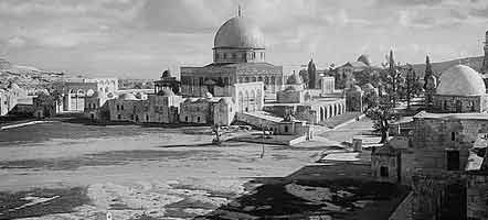 The Temple Mount, Jerusalem, Palestine, 1900