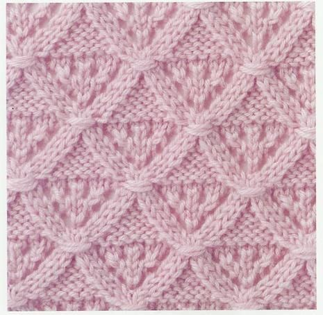 Lace Knitting Stitch #35 | Lace Knitting Stitches