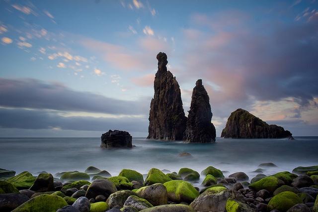 Neptune Finger Cliffs at Madeira´s North Shore. #madeira # ...