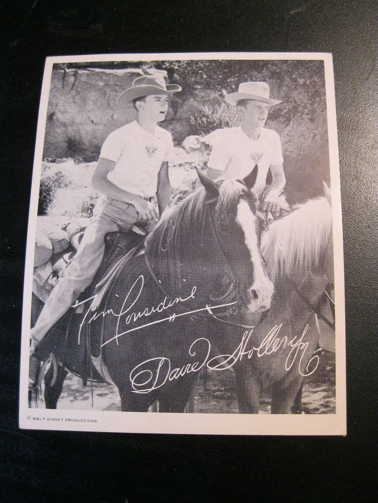"vintage 1957 Tim Considine David Stollery Walt Disney Disneyland print 5""x4"""