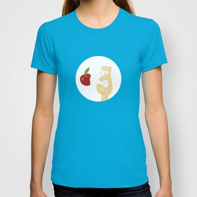 iLove Apple T-shirt by Abanoub Sobhy - $18.00