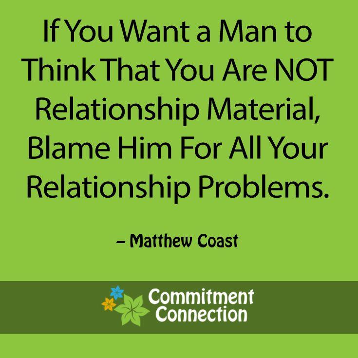 relationship problem for man