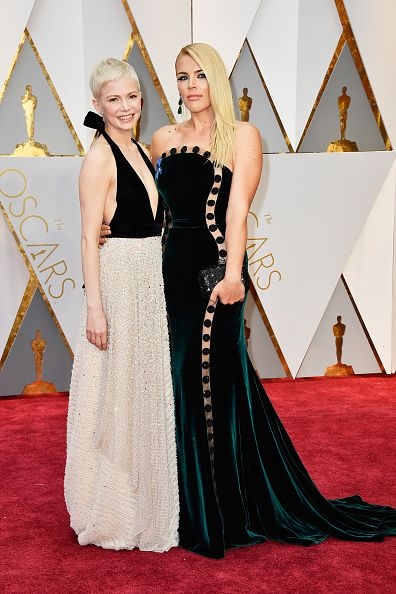 Michelle Williams and Busy Philipps set the BFF bar high at the Oscars red carpet