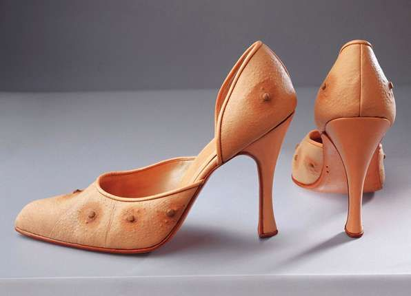 The Human Furriery of Nicola Constantino Makes Areolas an Accessory #shoes #footwear trendhunter.com