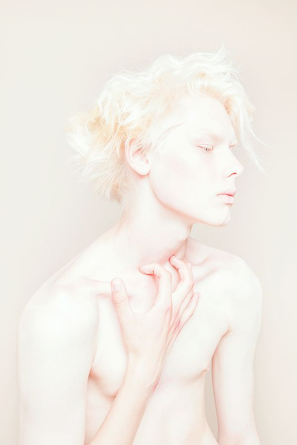 Cream by Igor Klepnev, via Behance #albino #albinism