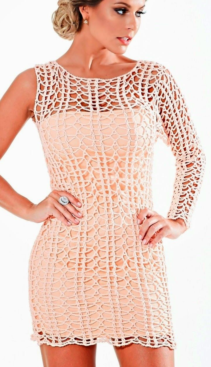 CROCHET DRESS WITH MANGO UNICA REVENUE AND GRAPHIC - Crochet Designs Free
