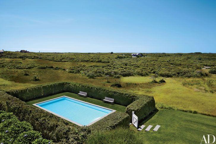 Прекрасный дом на острове Нантакет   Пуфик - блог о дизайне интерьера