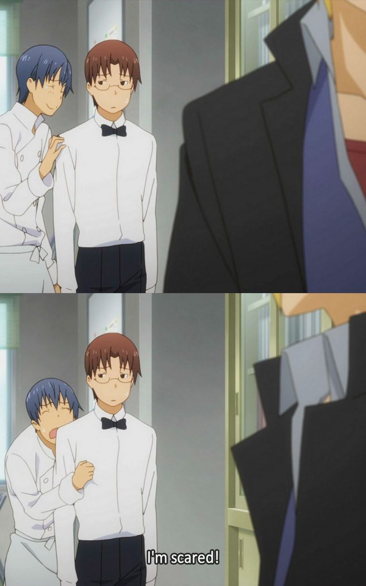 Working!!/Wagnaria!! | Ohh Souma, lol. It's always your own fault XD