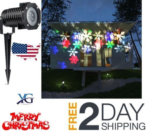 Christmas-Projector-Lights-Lamp-Sparkling-LED-Outdoor-Lightning-Decoration-New