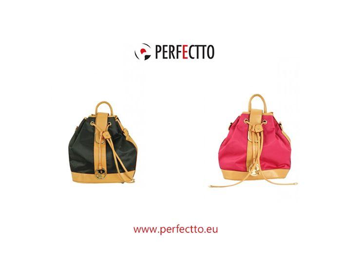 Rodzynek z oferty Perfectto: stylowy #plecaczek Rosa: http://www.perfectto.eu/rosa-stylowy-plecaczek, dostępny w 3 wersjach kolorystycznych. :) #plecak