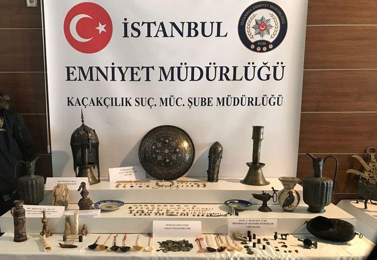 Sümer, Asur, Akad, Bizans, Selçuklu ve Osmanlı kültürlerinin yanı sıra Helenistik döneme ait toplam 242 parça tarihi eser ele geçirildi.