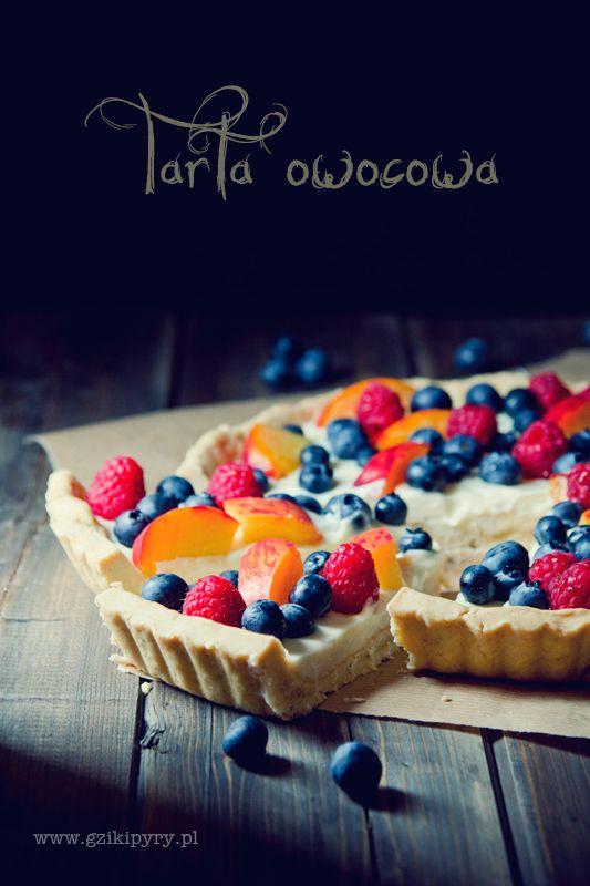 tart with fruits - foto by www.gzikipyry.pl