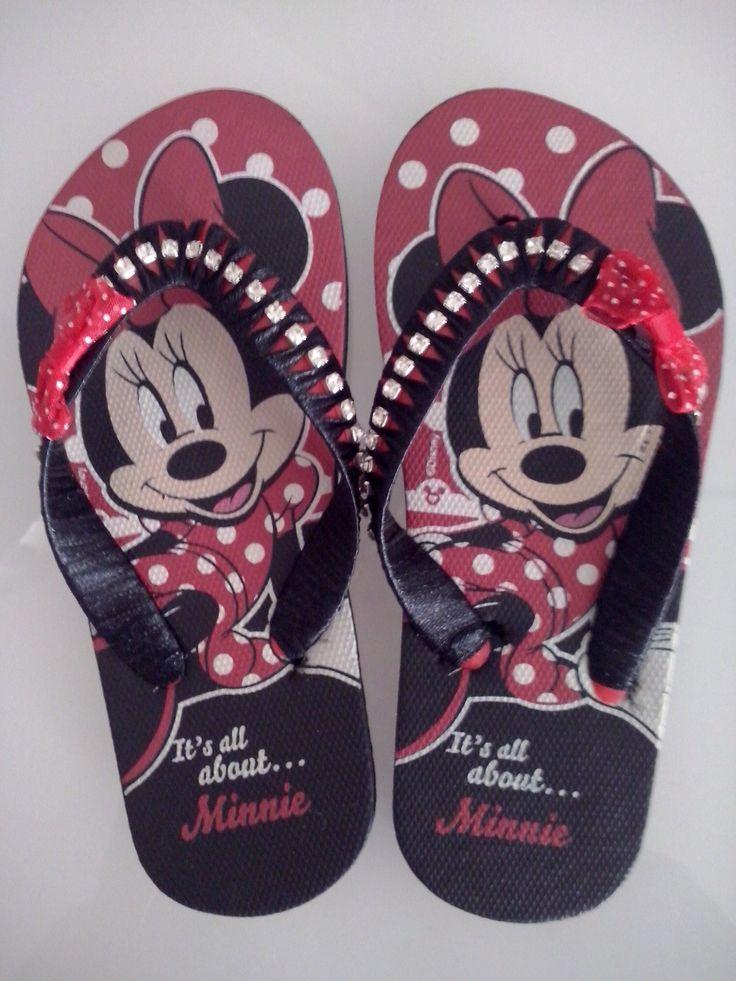 Chinelos Minnie