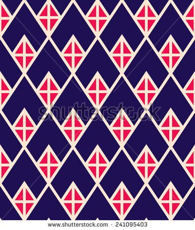Seamless geometric chevron pattern background