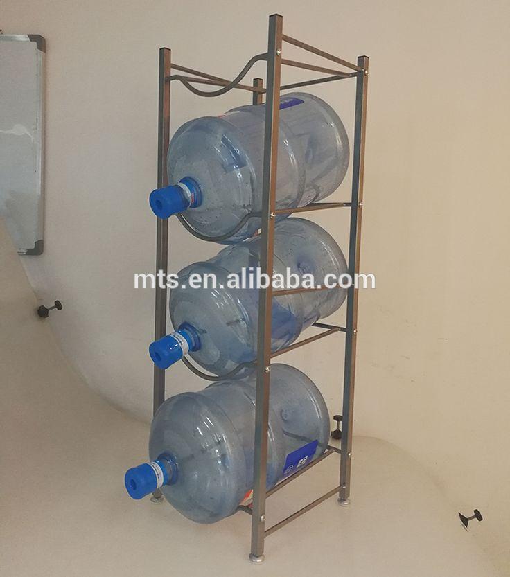 4 Tier 5 gallon water bottle storage rack