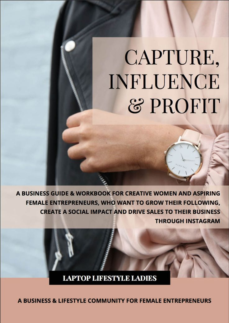 ARE YOU READY TO STEP UP YOUR INSTAGRAM GAME?  Capture, Influence & Profit is the ultimate business guide & workbook for creative women and aspiring female entrepreneurs, who want to grow their following, create a social impact and drive sales to their business through Instagram.