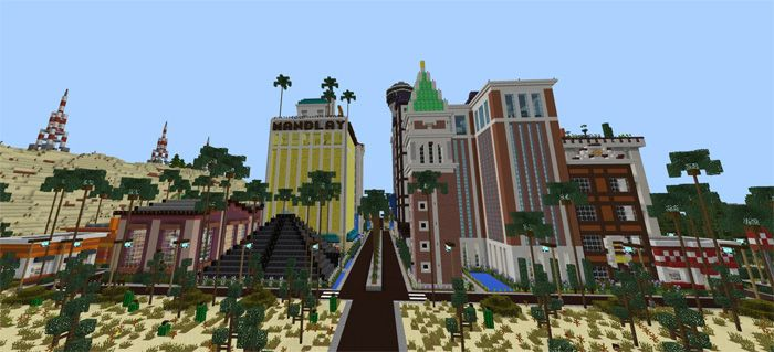 At the first time, Patriotville & Freedom County is designed for Minecraft: Java Edition. This city is quite large with many beautiful landscapes and various cities. Patriotville is the name of the central city, and the Freedom County mentions the surrounding countryside. Walk around the... https://mcpebox.com/patriotville-freedom-county-creation-map-minecraft-pe/
