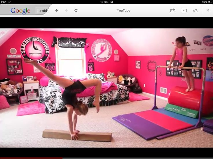 Gymnastics room | My room | Pinterest | Gymnasts, Plays ...