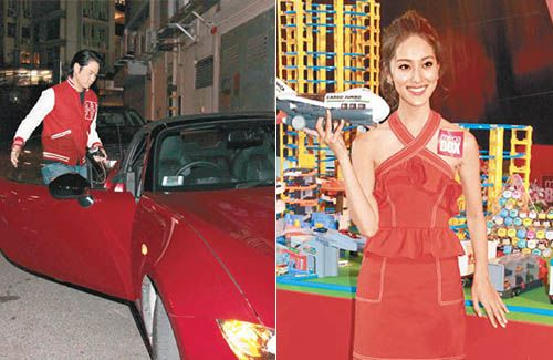 Kevin Cheng Drives Grace Chan Around In His Convertible
