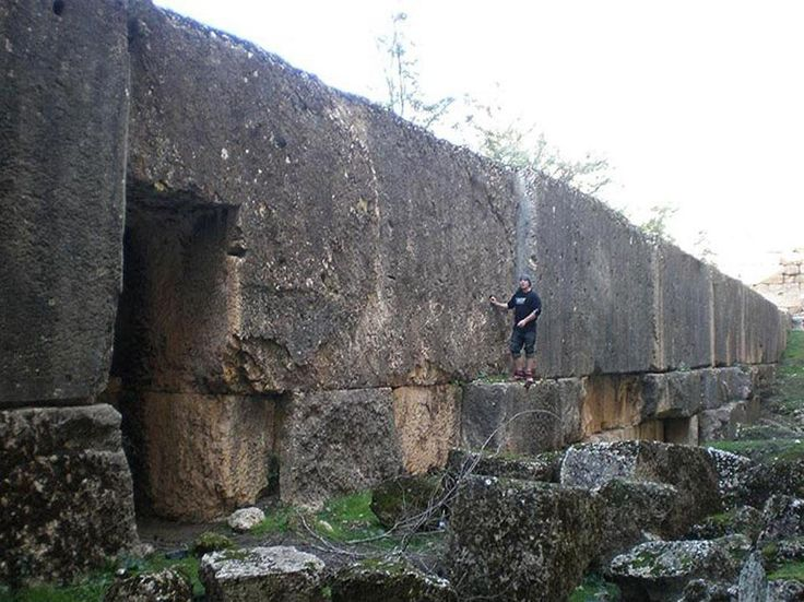 Baalbek Lebanon; thanks to Mark Laplume for pointing this out...insane megaliths...