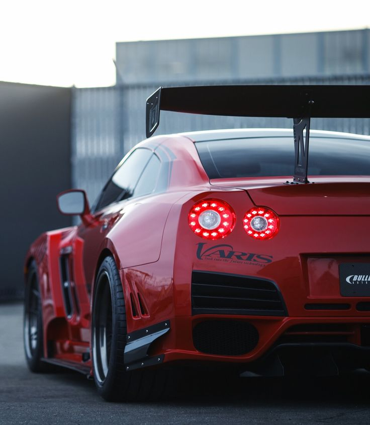 Visit The MACHINE Shop Café... ❤ Best of Nissan @ MACHINE ❤ (Red Rocket Bunny Nissan GT-R running VFS-1 Vossen Wheels)