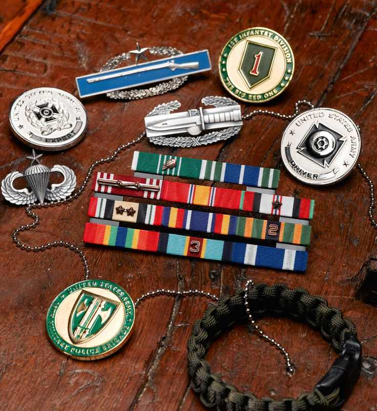 Army MilThin Ribbons Military Medals & Ribbons
