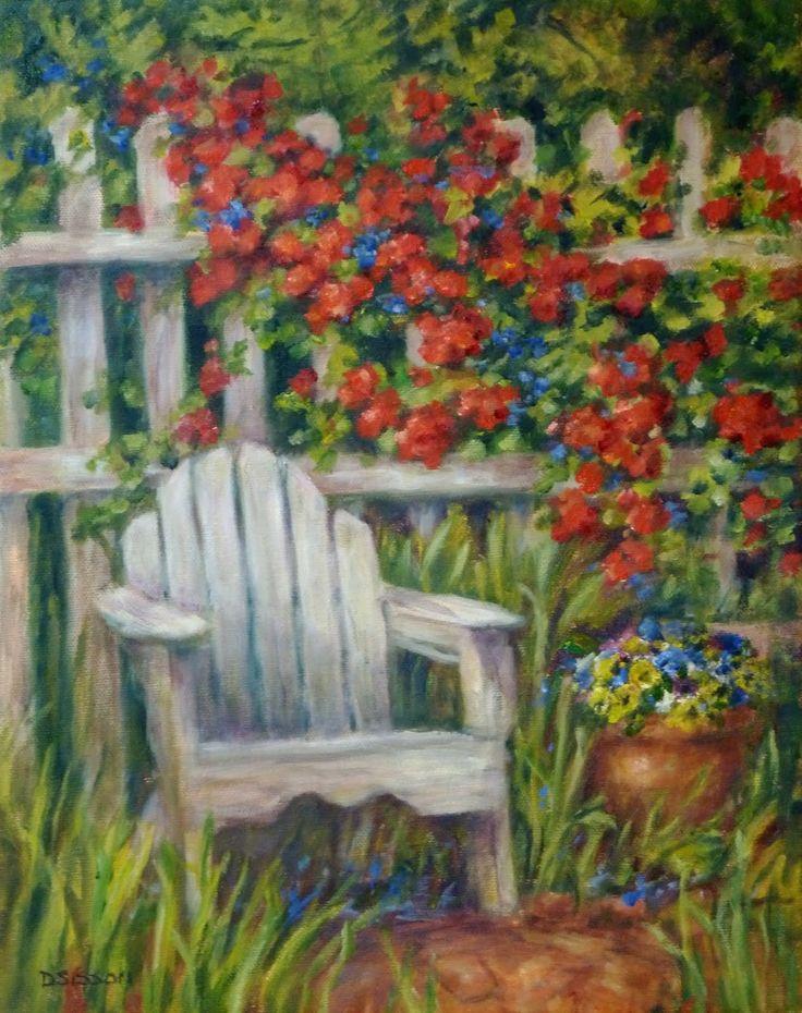 Simple Flower Garden Paintings 2836 best flower gardening images on pinterest | flower gardening