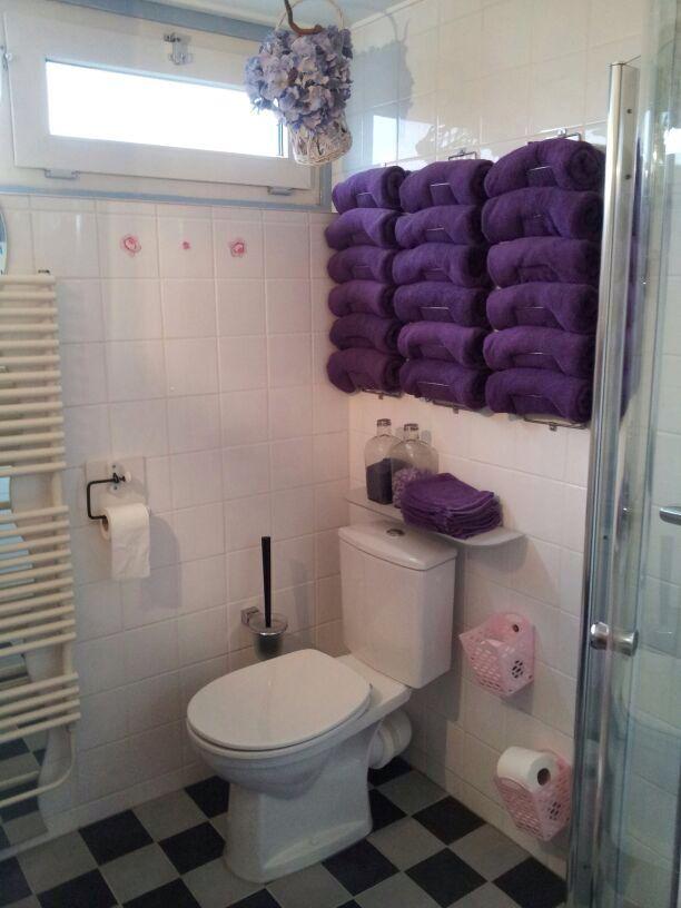 Andere muur badkamer