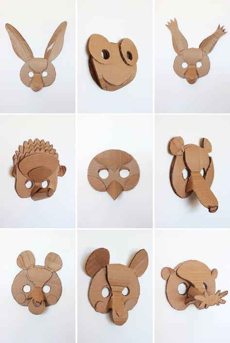 Super Oltre 25 fantastiche idee su Maschere carnevale fai da te animali  NP64